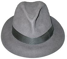 ボルサリーノ製ソフト帽