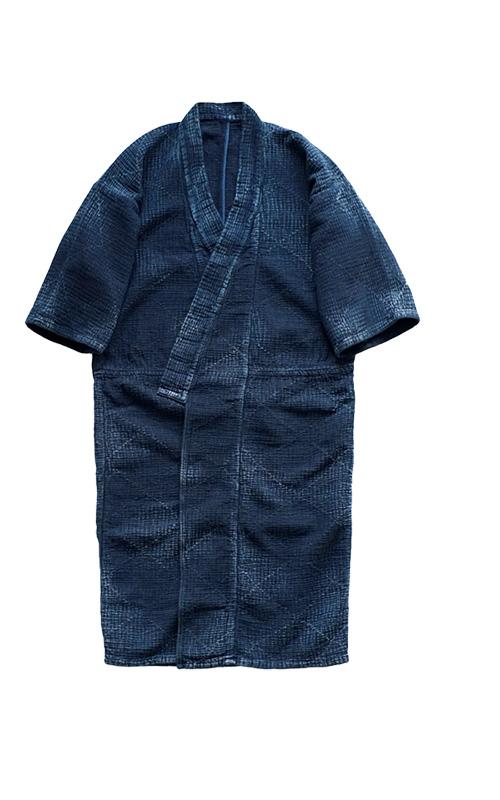 Porter Classic - SASHIKO LIGHT YABOYUKATA - NEW BLUE