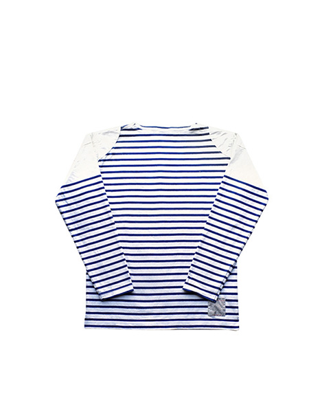 Nigel Cabourn - BASQUE SHIRTS ROPE YARN - BLUE