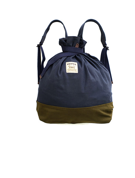 Nigel Cabourn - RUCKSACK - 1/2 WEIGHT NYLON - NAVY