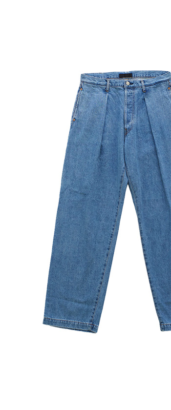 JOSWICK NEW YORK - PREATED DENIM WASHED - BLUE