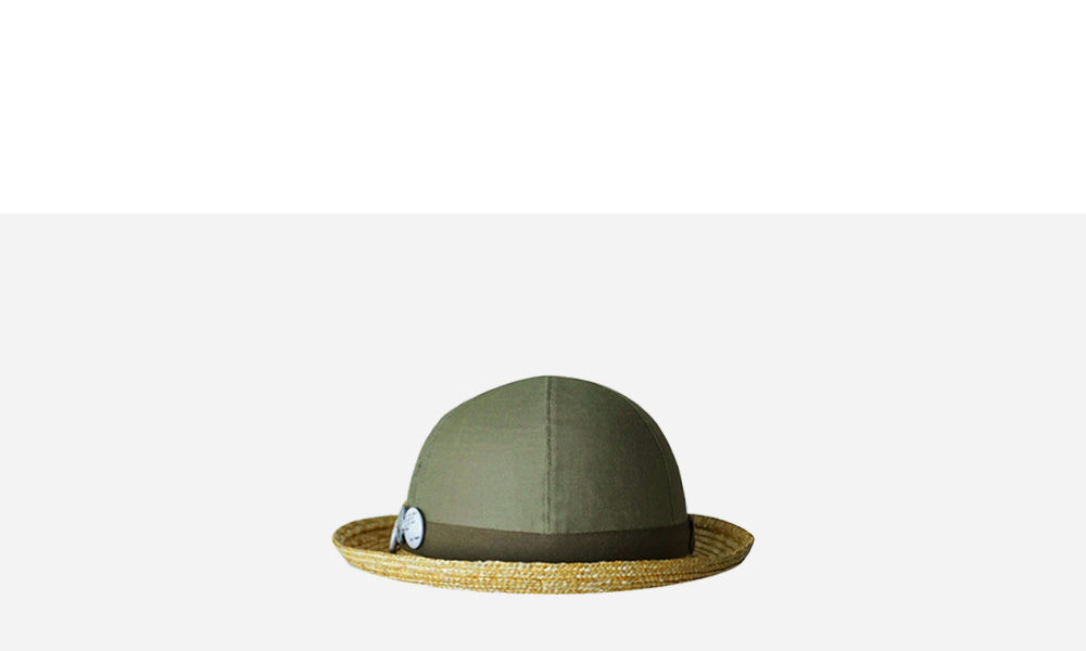 Nigel Cabourn for Women's - FATIGUE HAT - OLIVE