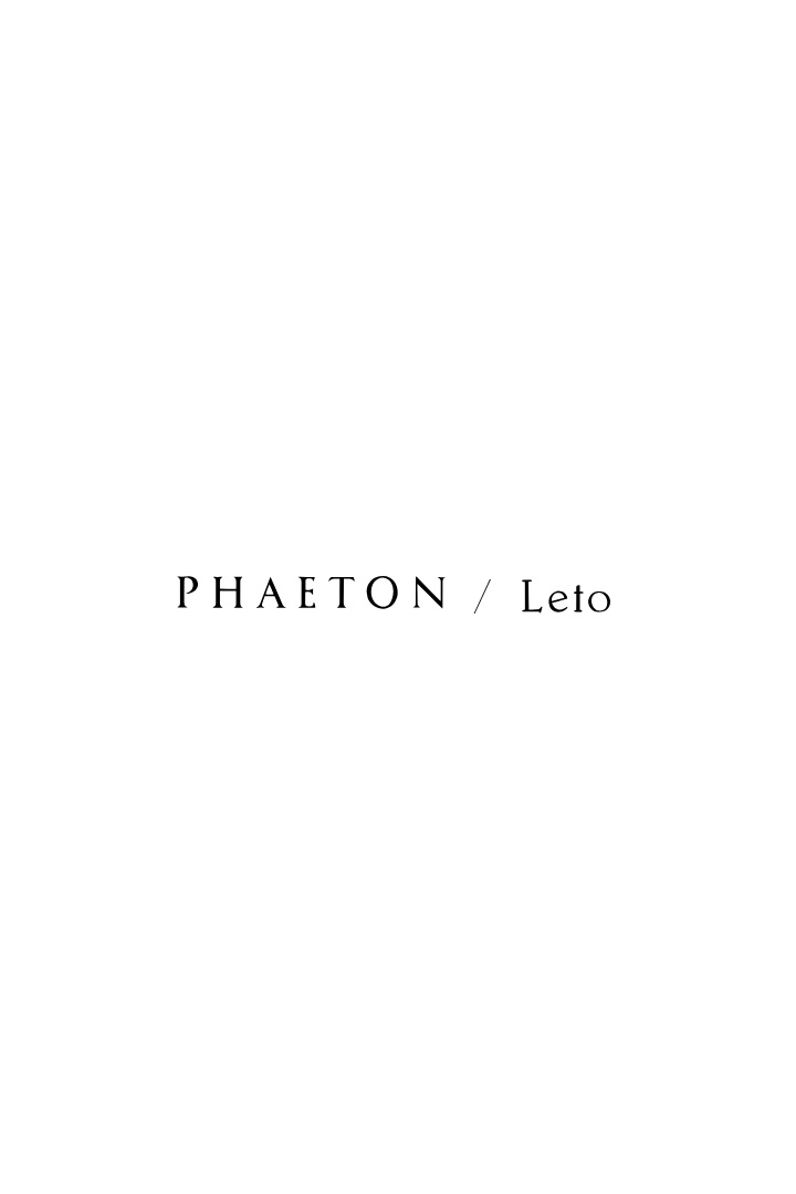 BAG  - PHAETON × LETO  - Not for sale