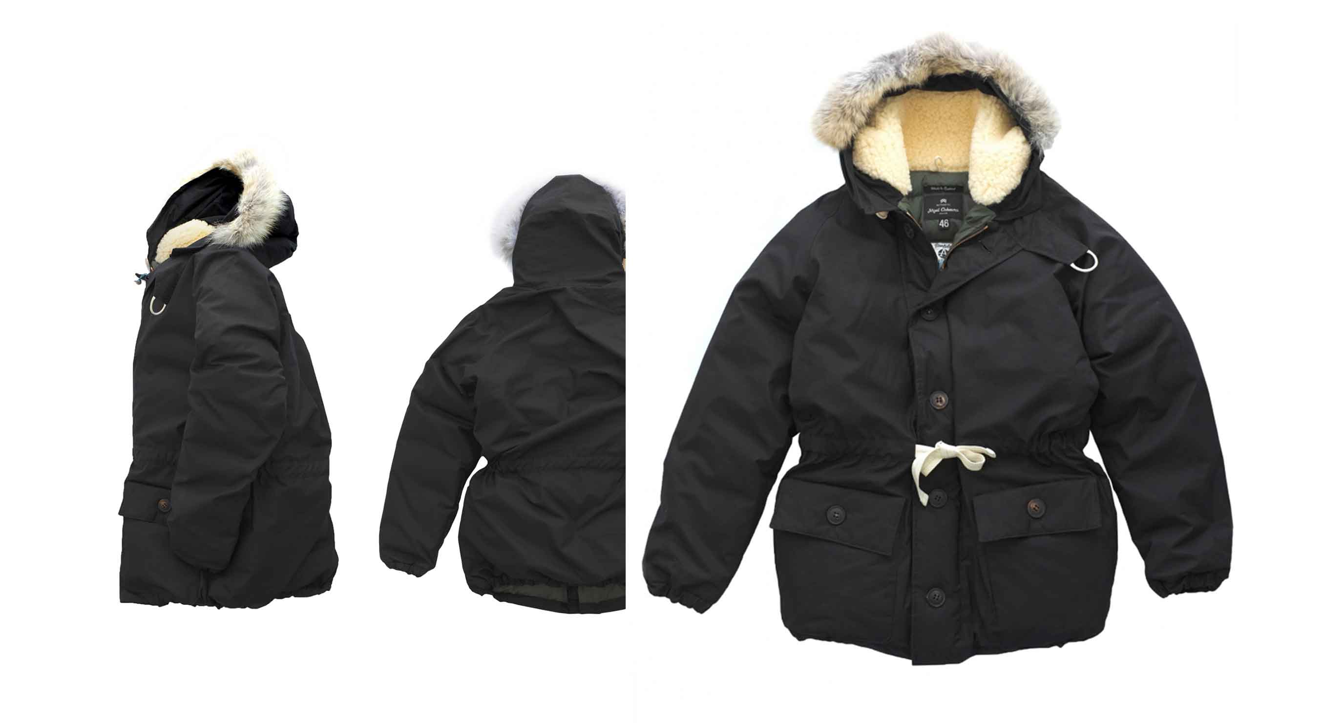 Nigel Cabourn - EVEREST PARKA - BLACK