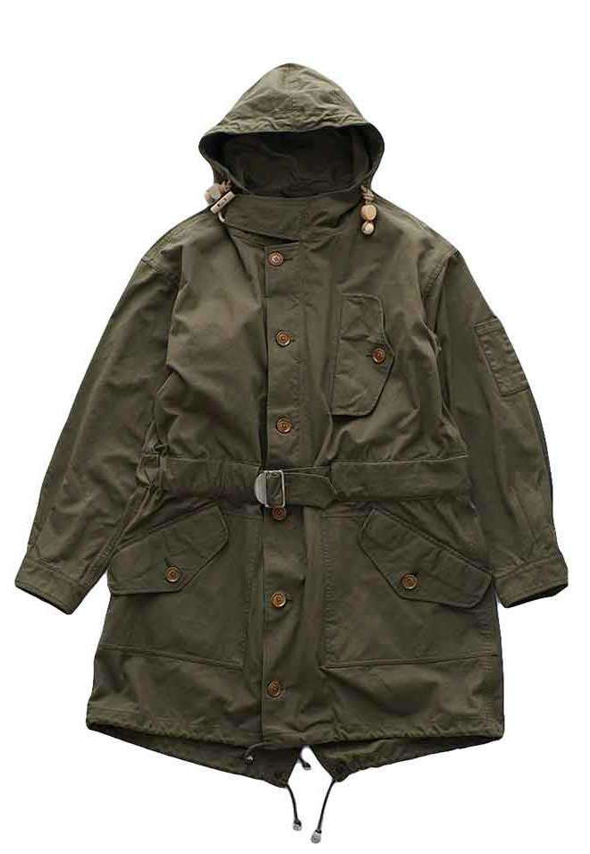 Nigel Cabourn - COLD WEATHER PARKA HALFTEX - DARK OLIVE