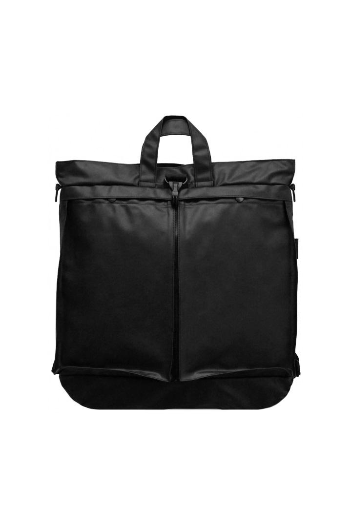 bagjack - 3WAY HELMET BAG - LIMONTA NYLON - BLACK