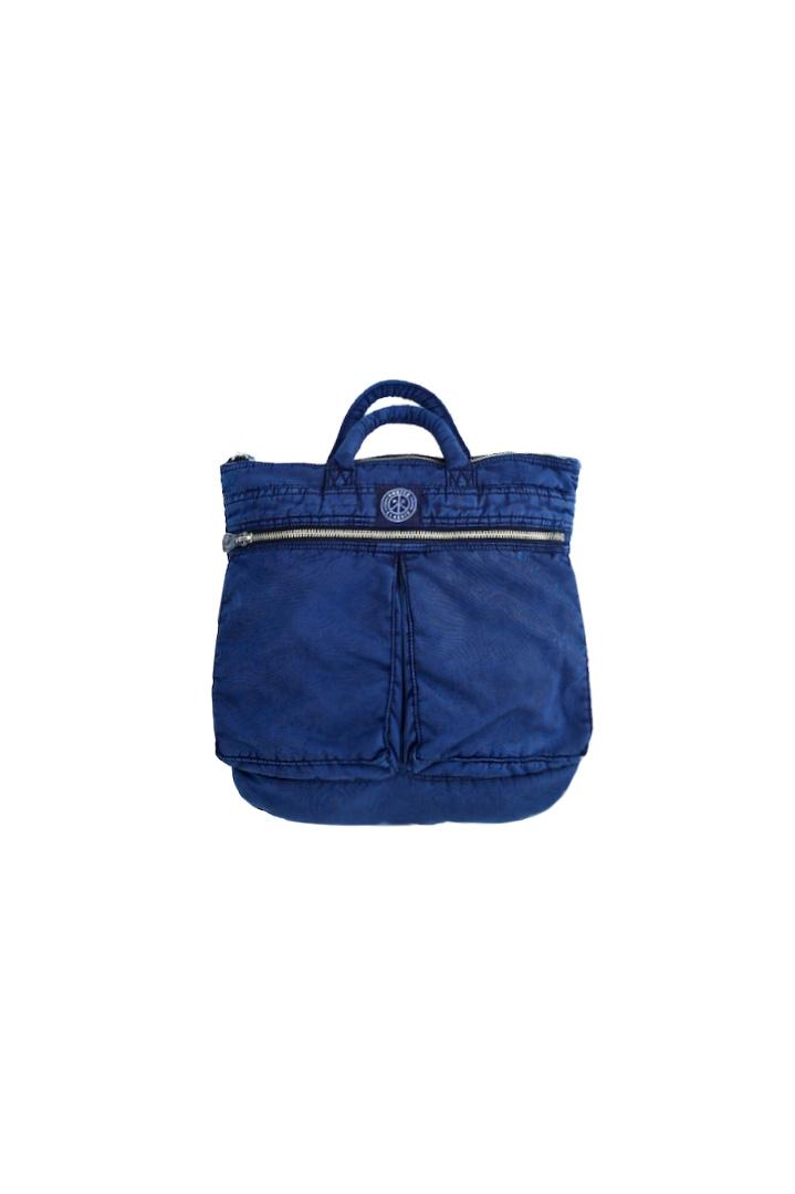 Porter Classic - SUPER NYLON HELMET CASE (S) - INDIGO BLUE