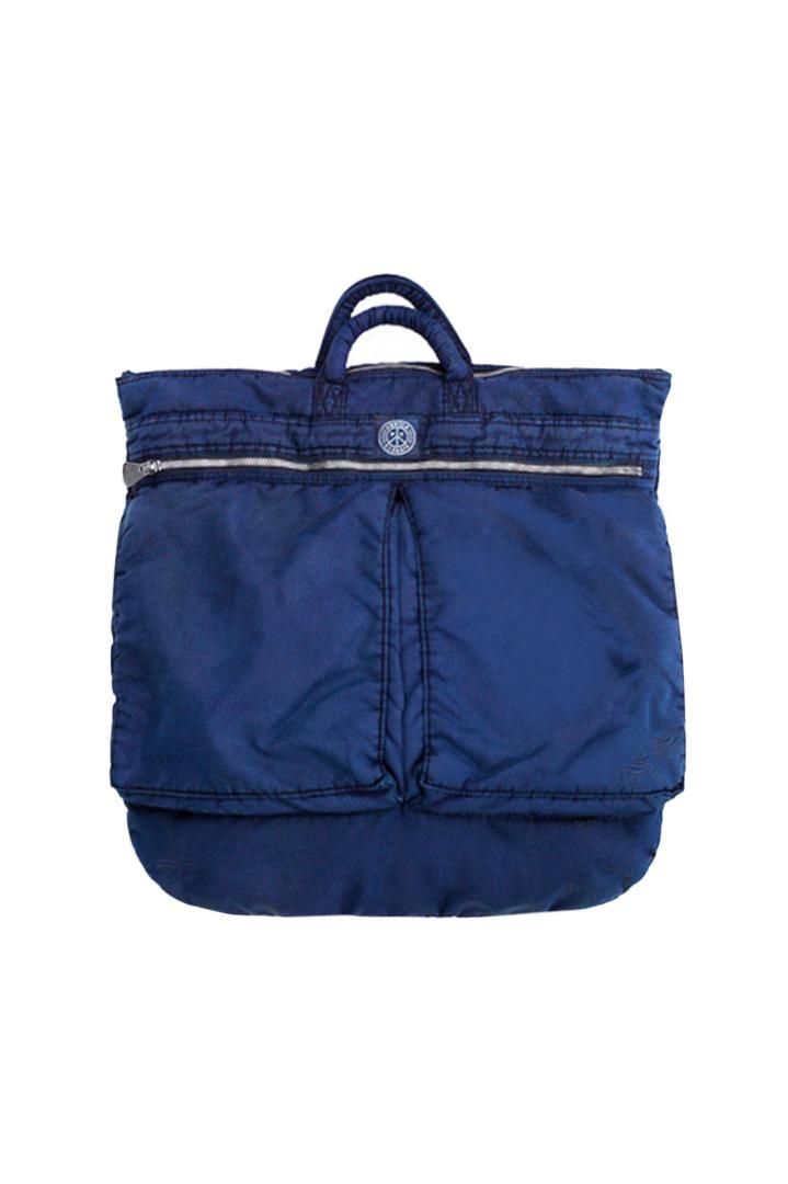 Porter Classic - SUPER NYLON HELMET CASE - INDIGO BLUE
