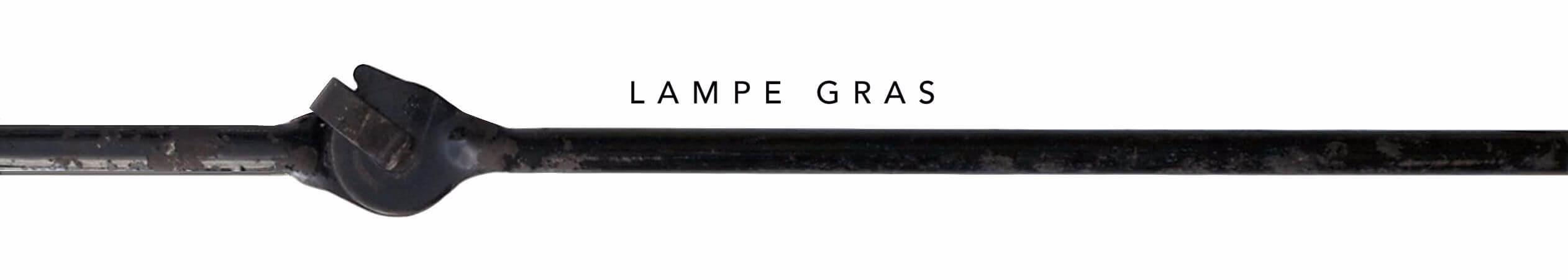 LA LAMPE GRAS��Available now