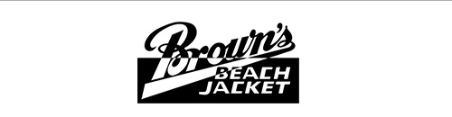 BROWN'S BEACH JACKET