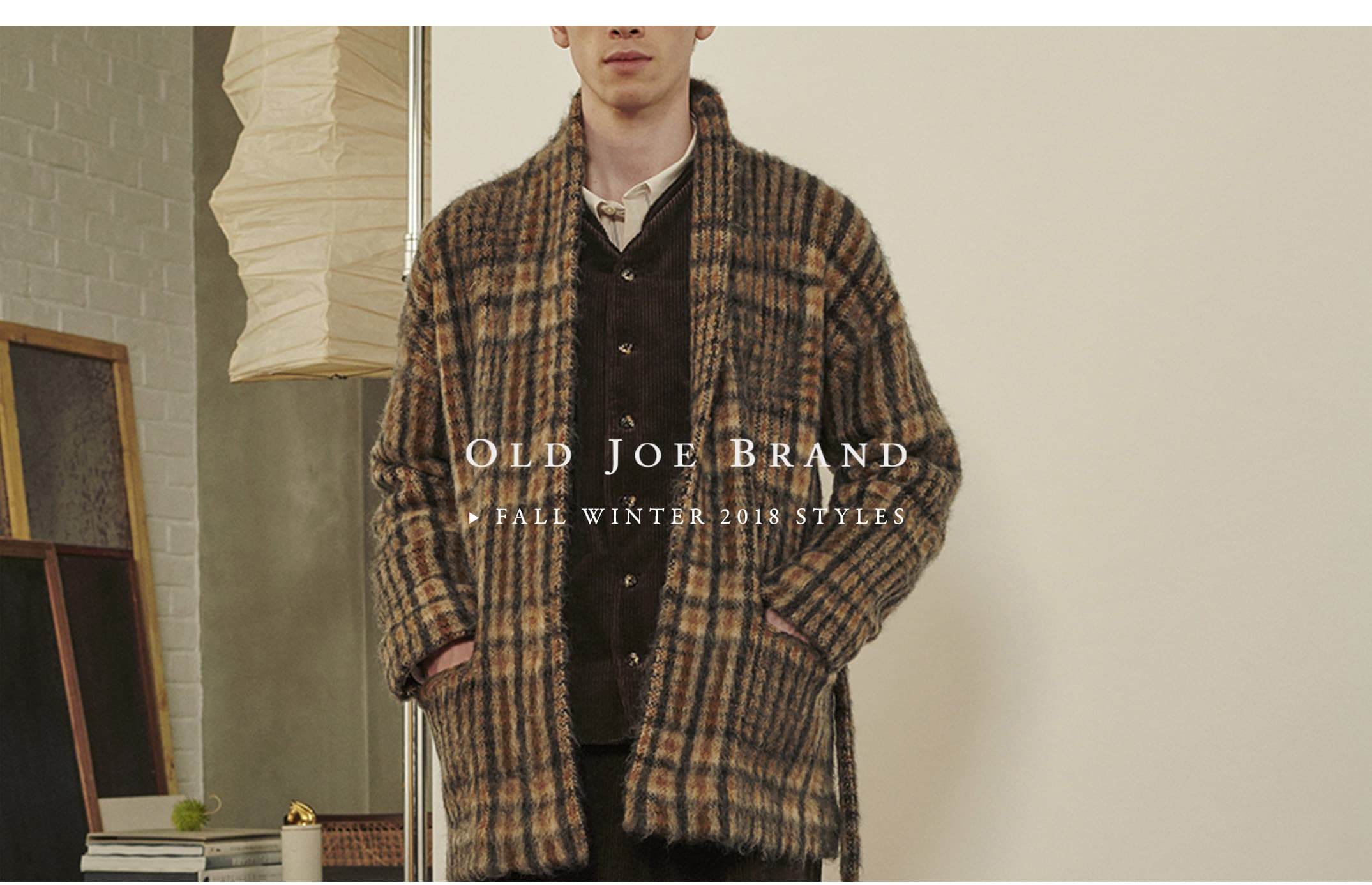 OLD JOE 2018 FALL WINTER STYLES