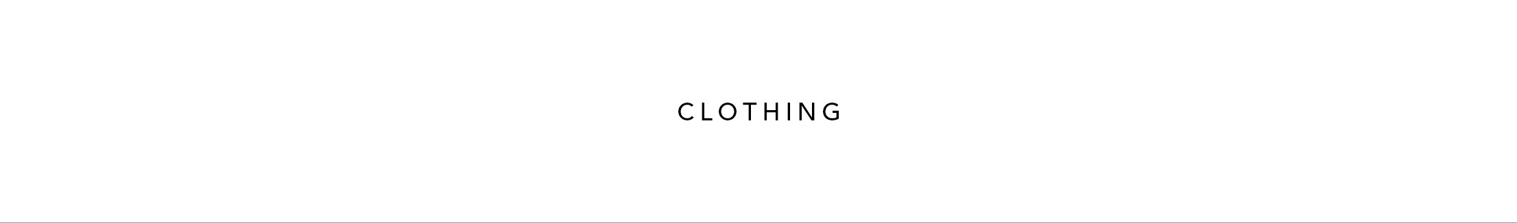 ↑ CLOTHING STORE