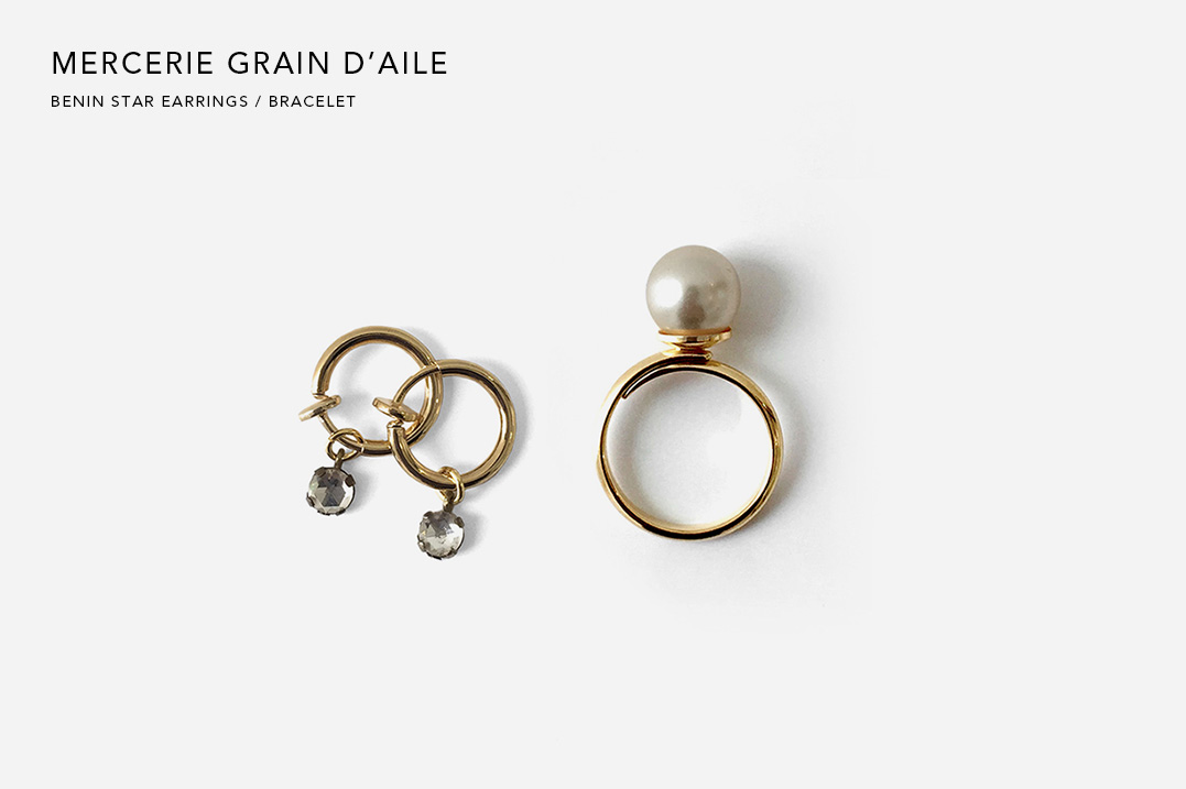 MERCERIE GRAIN D'AILE|HEMP COOKIE PIERCE