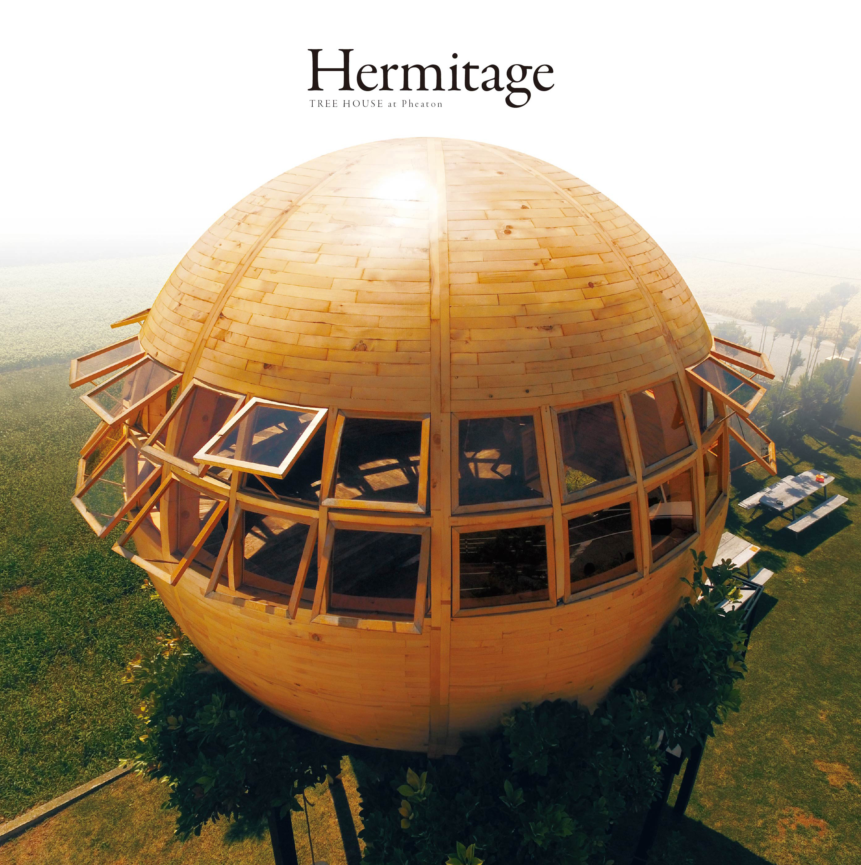 "TREE HOUSE ""Hermitage "" at PHAETON SMART CLOTHES"