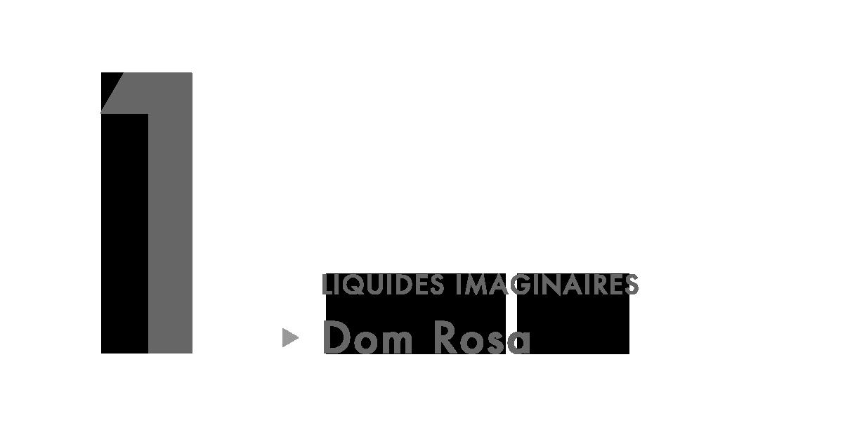 LIQUIDES IMAGINAIRES Eau de Parfum - Dom Rosa