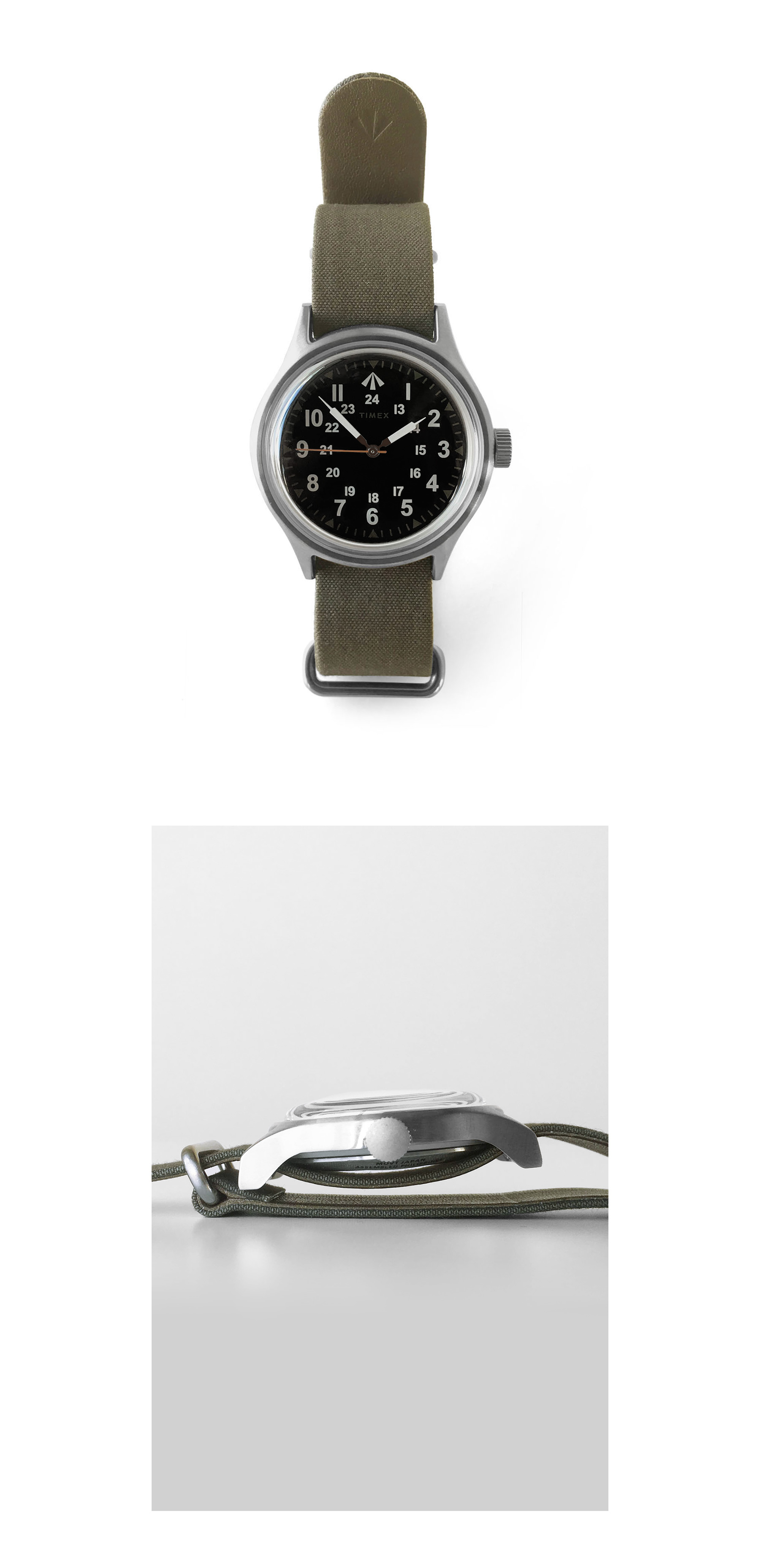 Nigel Cabourn × TIMEX - NAM WATCH