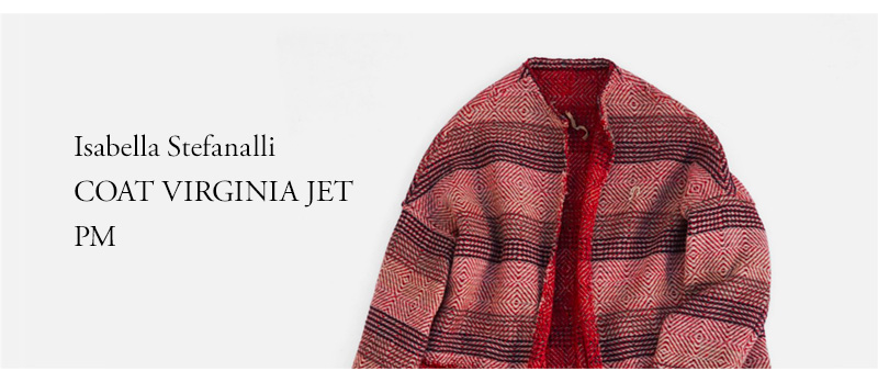 Isabella Stefanalli COAT VIRGINIA JET PM