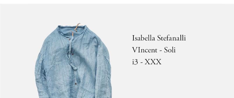 Isabella Stefanalli  VIncent - Soli  i3 - XXX