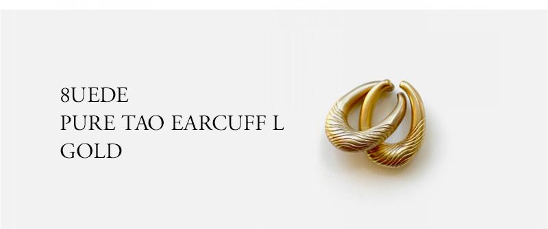 8UEDE PURE TAO EARCUFF L GOLD