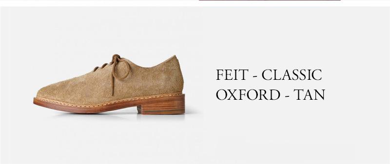 FEIT - CLASSIC OXFORD - TAN