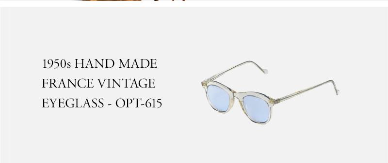 1950s HAND MADE  FRANCE VINTAGE  EYEGLASS - OPT-615