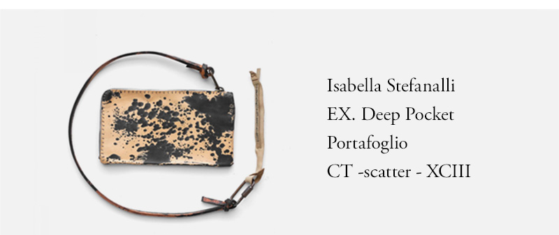 Isabella Stefanalli  EX. Deep Pocket  Portafoglio CT -scatter
