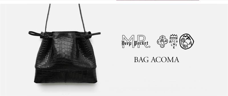 ACCALMIE Mr. DEEP POCKET - BAG ACOMA