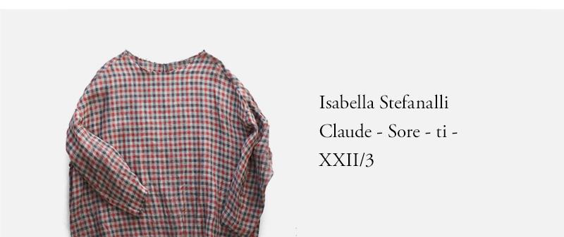 Isabella Stefanalli  Claude - Sore - ti - XXII/3