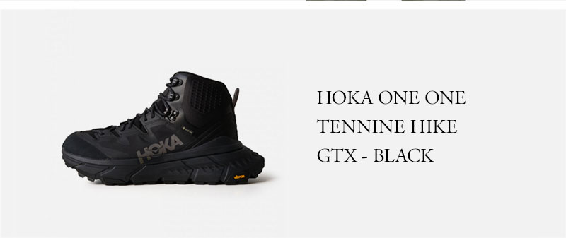 HOKA ONE ONE  TENNINE HIKE GTX - BLACK