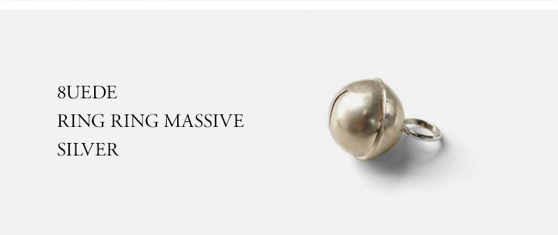 8UEDE - RING RING MASSIVE - SILVER