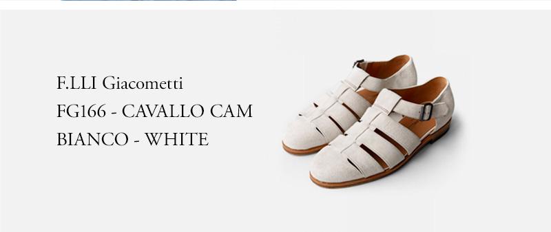 F.LLI Giacometti - FG166 - CAVALLO CAM BIANCO - WHITE
