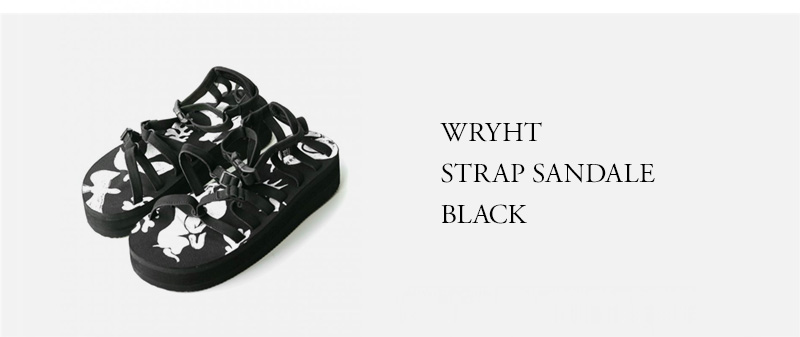 WRYHT - STRAP SANDALE - BLACK
