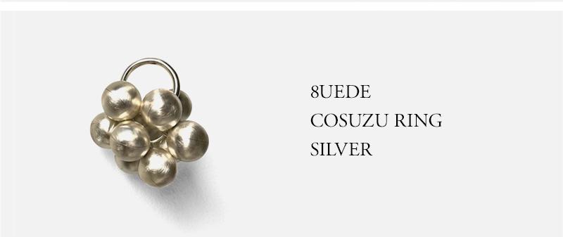 8UEDE - COSUZU RING - SILVER