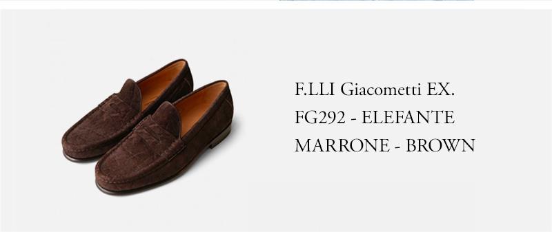 F.LLI Giacometti ★★★ - FG292 - ELEFANTE MARRONE - BROWN