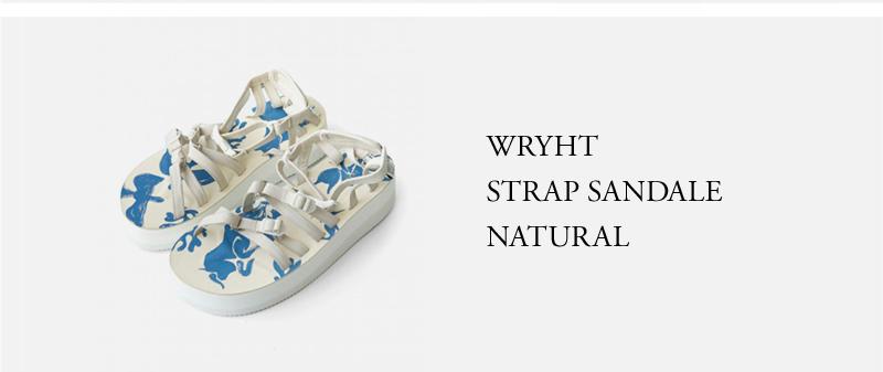 WRYHT - STRAP SANDALE - NATURAL