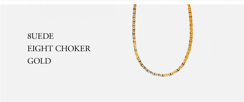 8UEDE - EIGHT CHOKER - GOLD