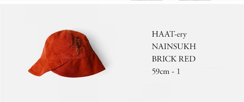 HAAT-ery - NAINSUKH - BRICK RED - 59cm - 1