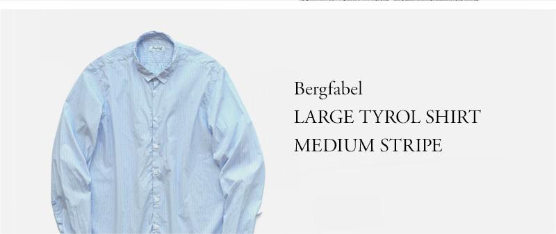 Bergfabel - LARGE TYROL SHIRT - MEDIUM STRIPE