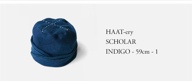 HAAT-ery - SCHOLAR - INDIGO - 59cm - 1