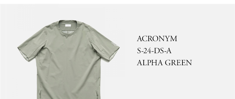 ACRONYM - S-24-DS-A - ALPHA GREEN