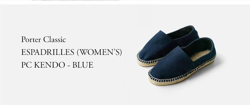 Porter Classic - ESPADRILLES (WOMEN'S) PC KENDO - BLUE