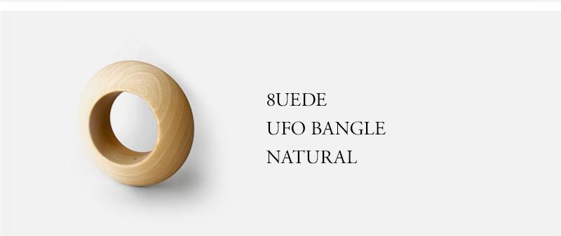 8UEDE - UFO BANGLE - NATURAL