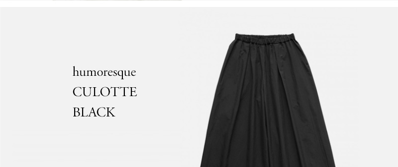 humoresque - CULOTTE - BLACK