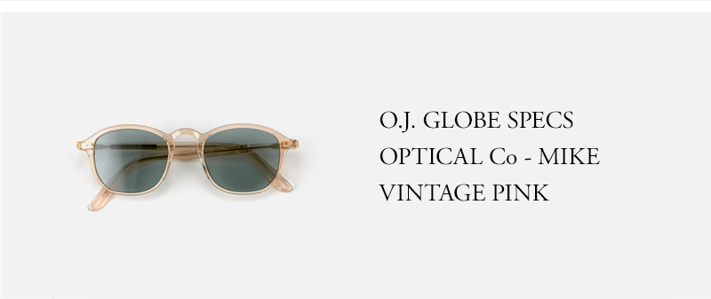 OLD JOE - O.J. GLOBE SPECS OPTICAL Co - MIKE - VINTAGE PINK