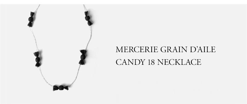 MERCERIE GRAIN D'AILE - CANDY 18 NECKLACE