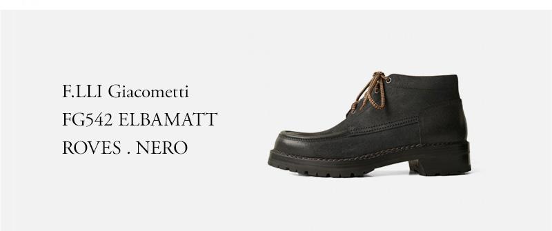 F.LLI Giacometti FG542 ELBAMATT  ROVES . NERO