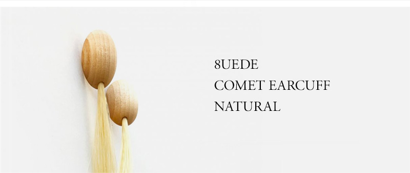 8UEDE - COMET EARCUFF - NATURAL