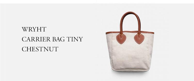 WRYHT - CARRIER BAG TINY - CHESTNUT