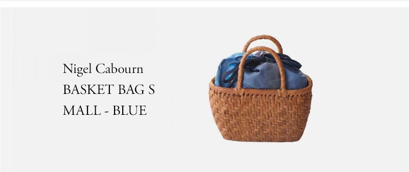 Nigel Cabourn - BASKET BAG SMALL - BLUE