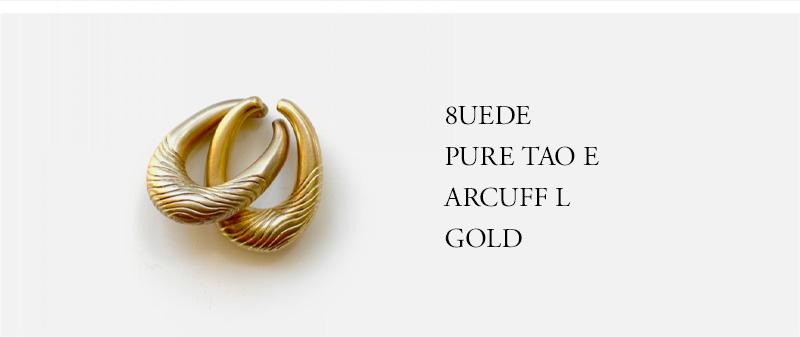 8UEDE - PURE TAO EARCUFF L - GOLD